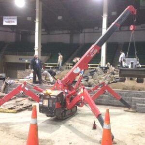 Podesty przewoźne (pająki) - lekkie, kompaktowe, łatwe do przemieszczania urządzenia do prac na wysokościach